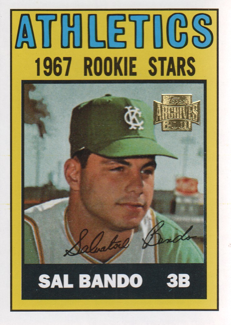 2001 Topps Archives #277 Sal Bando 67