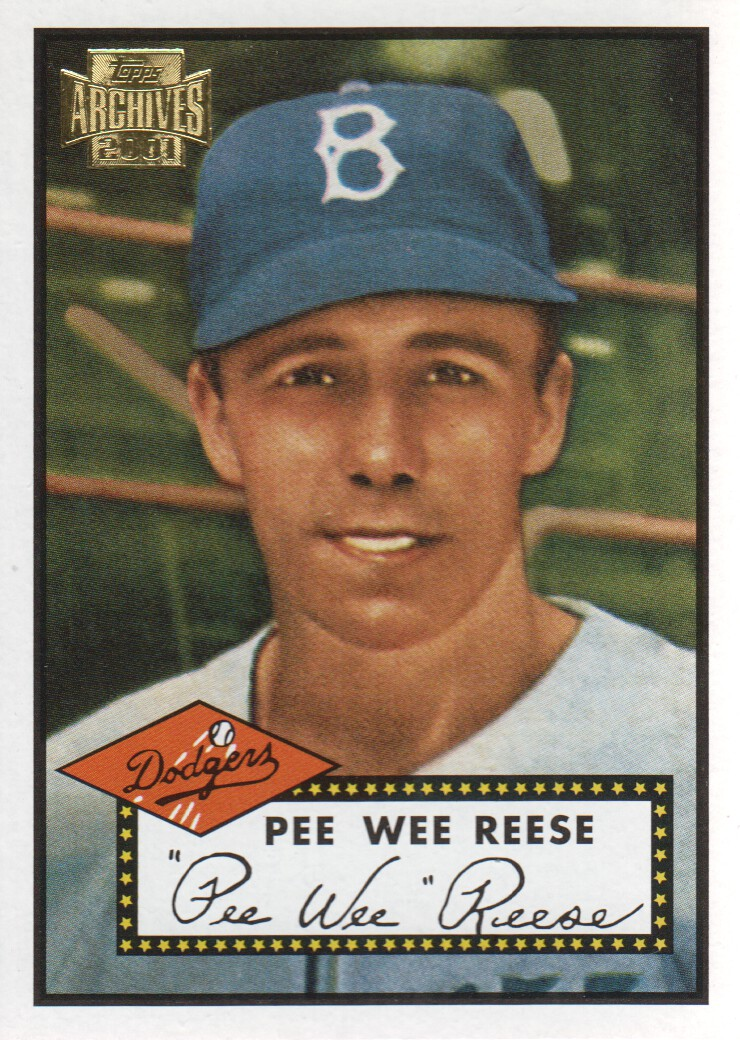 2001 Topps Archives #315 Pee Wee Reese 52