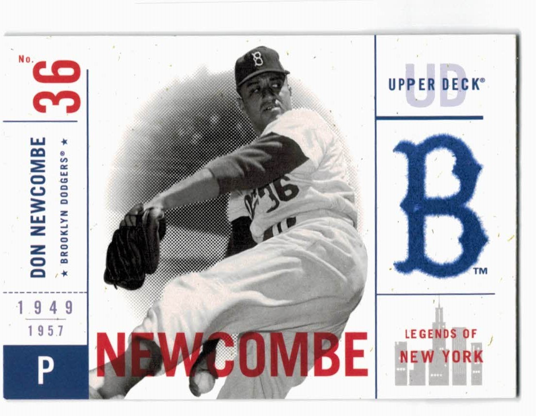 2001 Upper Deck Legends of NY #4 Don Newcombe