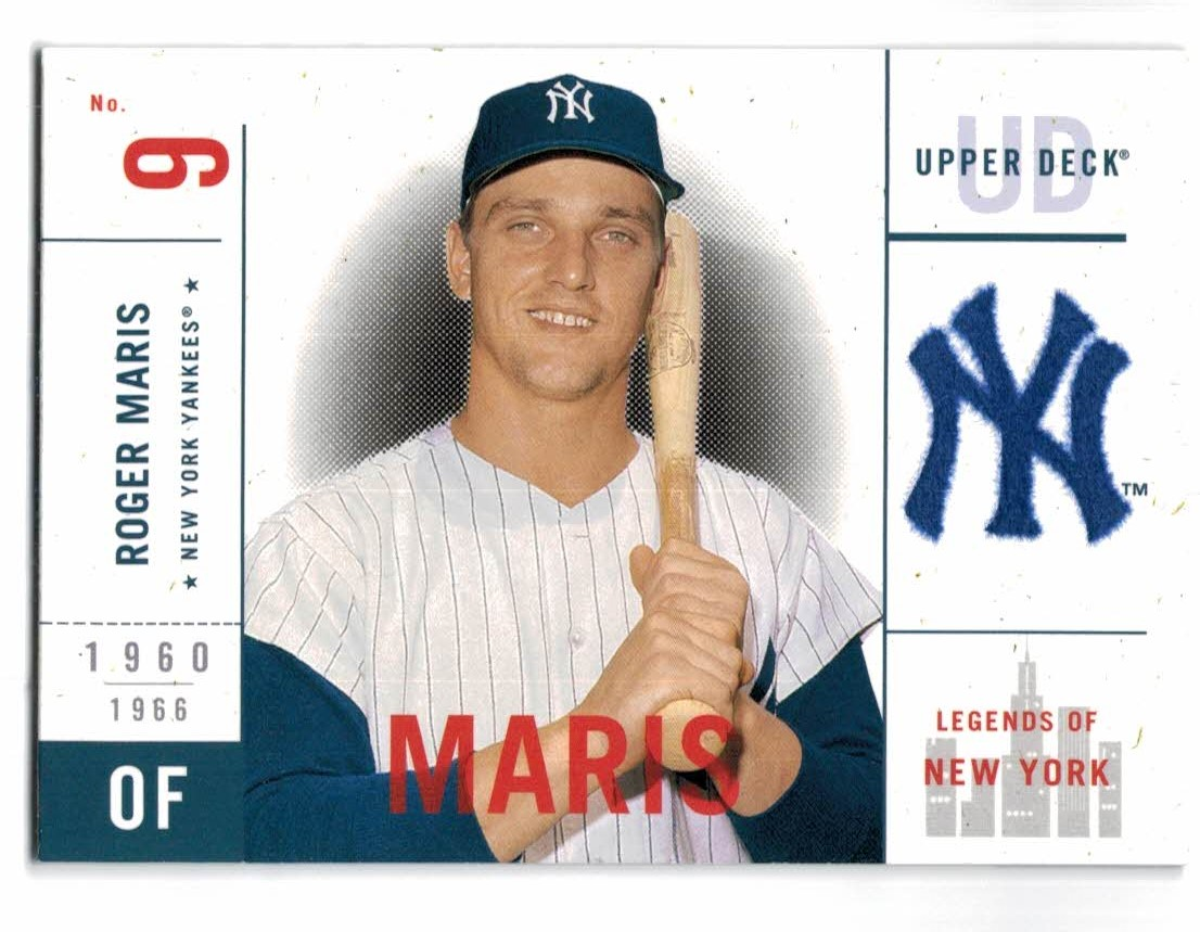 2001 Upper Deck Legends of NY #116 Roger Maris