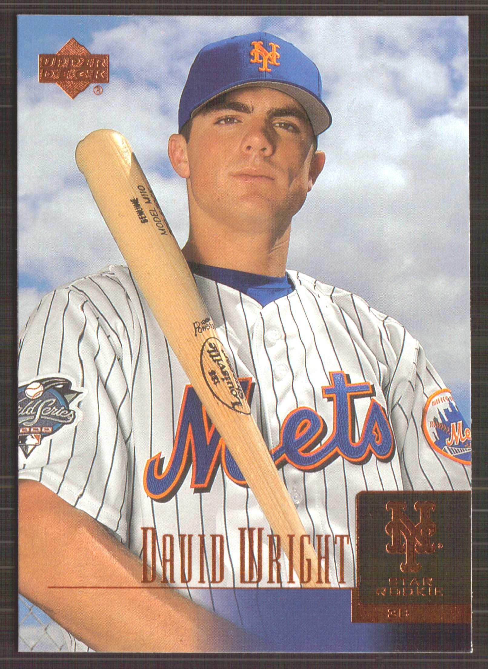 2001 Upper Deck Prospect Premieres #52 David Wright XRC