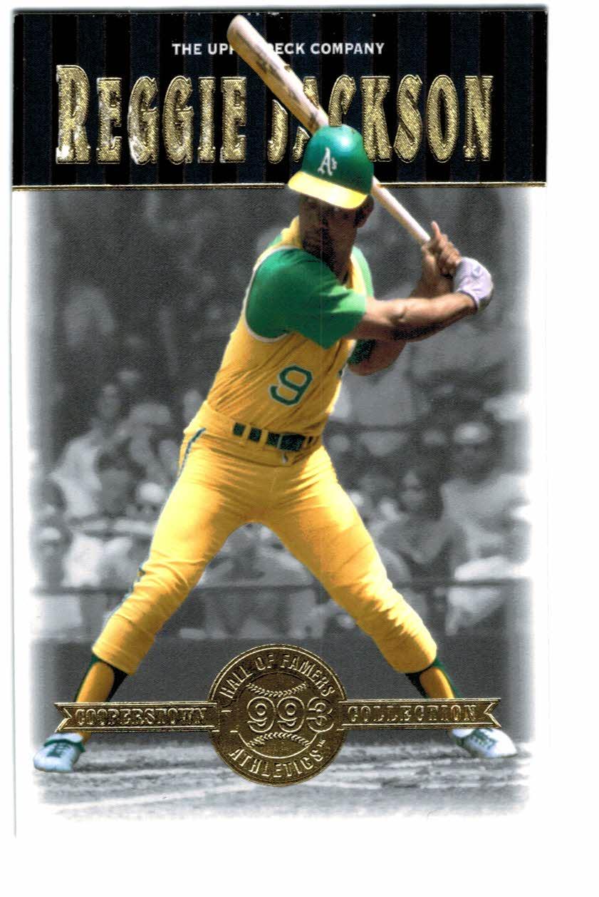 2001 Upper Deck Hall of Famers #1 Reggie Jackson