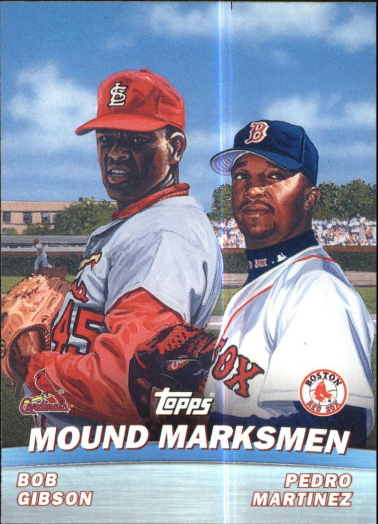 2001 Topps Combos #TC4 Mound Marksmen