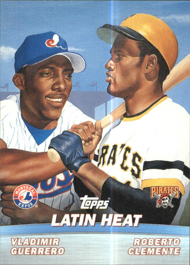 2001 Topps Combos #TC8 Latin Heat