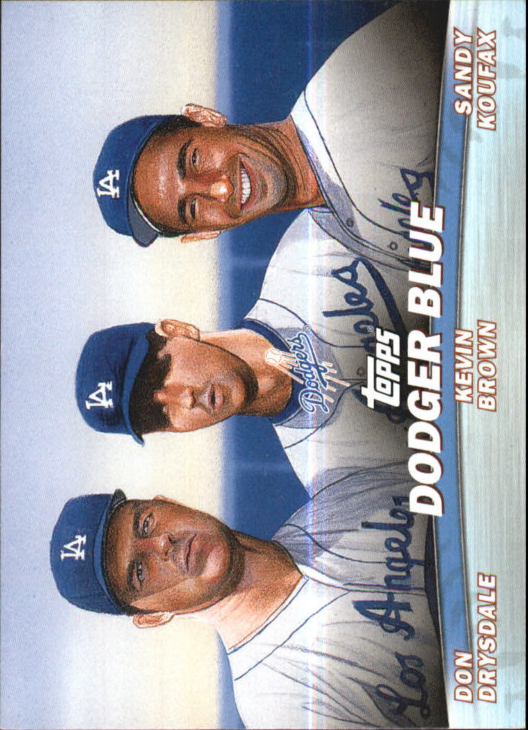 2001 Topps Combos #TC11 Dodger Blue