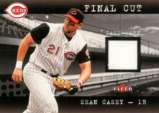 2001 Fleer Genuine Final Cut #4 Sean Casey