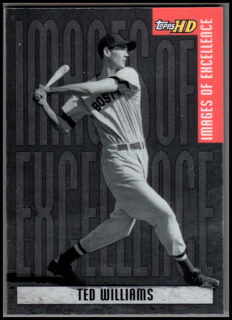 2001 Topps HD Images of Excellence Aluminum #IE5 Ted Williams
