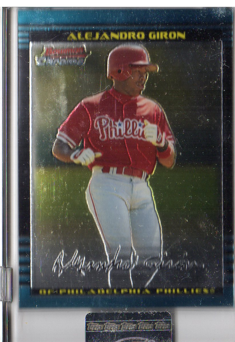 2002 Bowman Chrome Uncirculated #168 Alejandro Giron