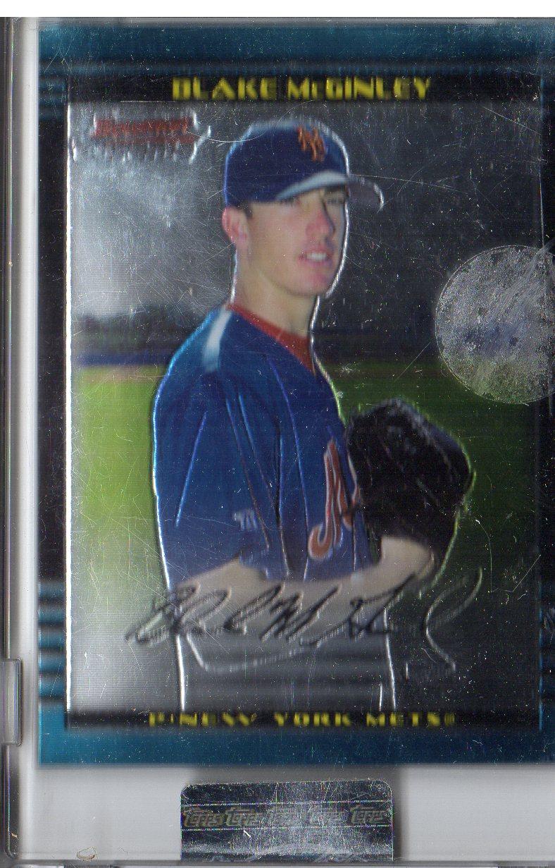 2002 Bowman Chrome Uncirculated #202 Blake McGinley