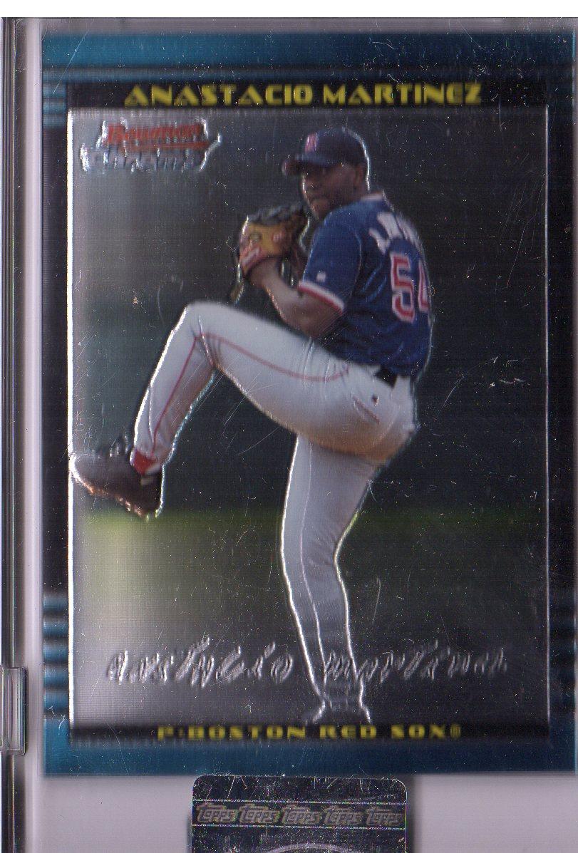 2002 Bowman Chrome Uncirculated #216 Anastacio Martinez