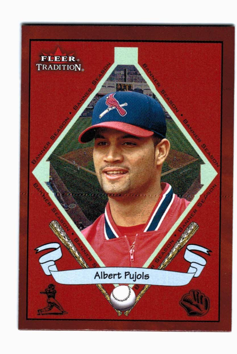2002 Fleer Tradition #474 Albert Pujols BNR