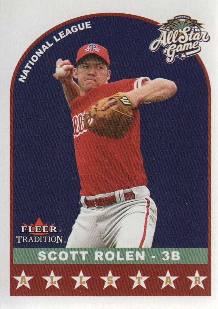 2002 Fleer Tradition Update #U334 Scott Rolen AS