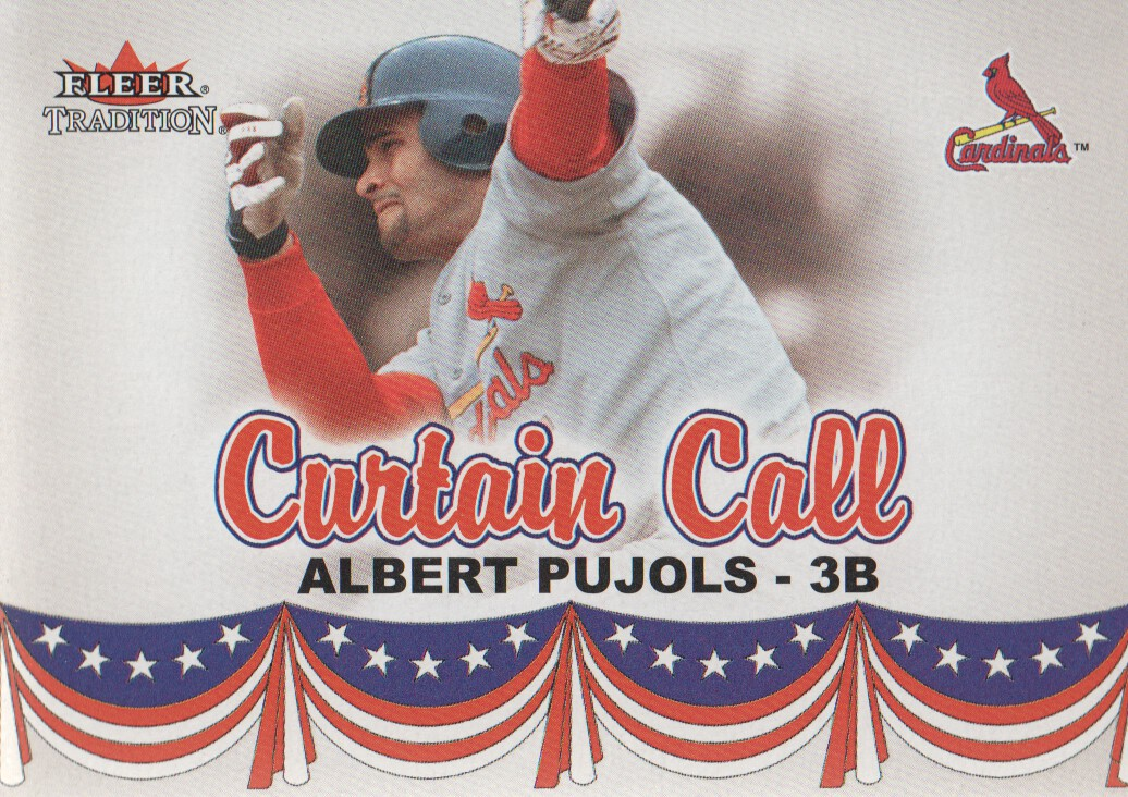 2002 Fleer Tradition Update #U368 Albert Pujols CC