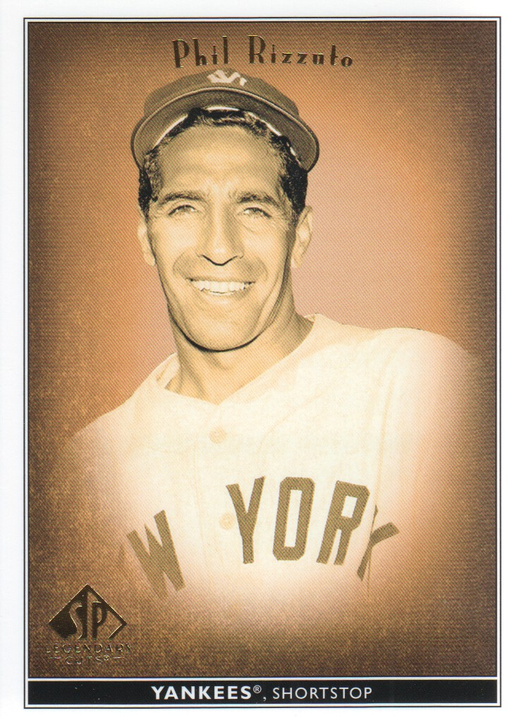 2002 SP Legendary Cuts #60 Phil Rizzuto
