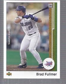 2002 UD Authentics #1 Brad Fullmer