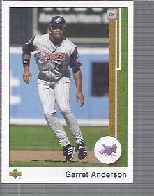 2002 UD Authentics #2 Garret Anderson