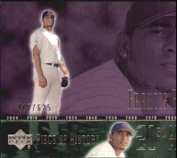 2002 UD Piece of History #101A Francis Beltran 21CP RC