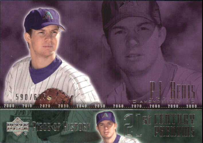 2002 UD Piece of History #105A P.J. Bevis 21CP RC