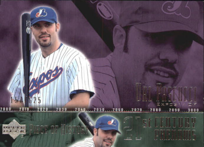 2002 UD Piece of History #111A Val Pascucci 21CP