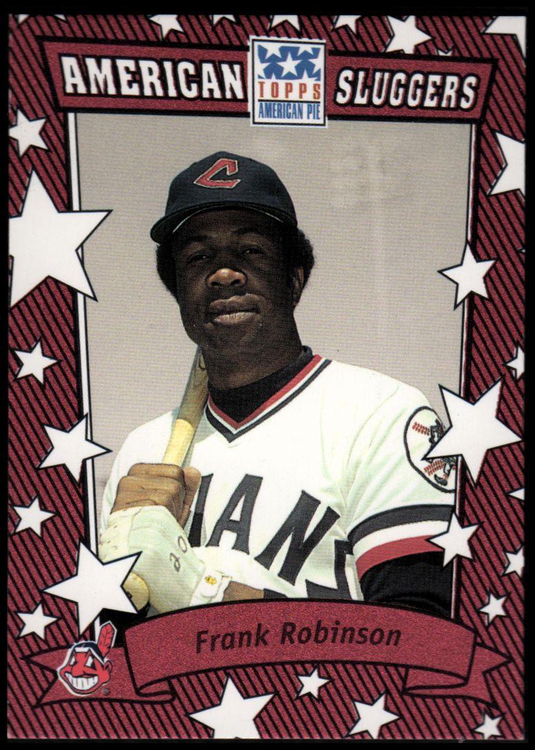 2002 Topps American Pie Sluggers Red #9 Frank Robinson