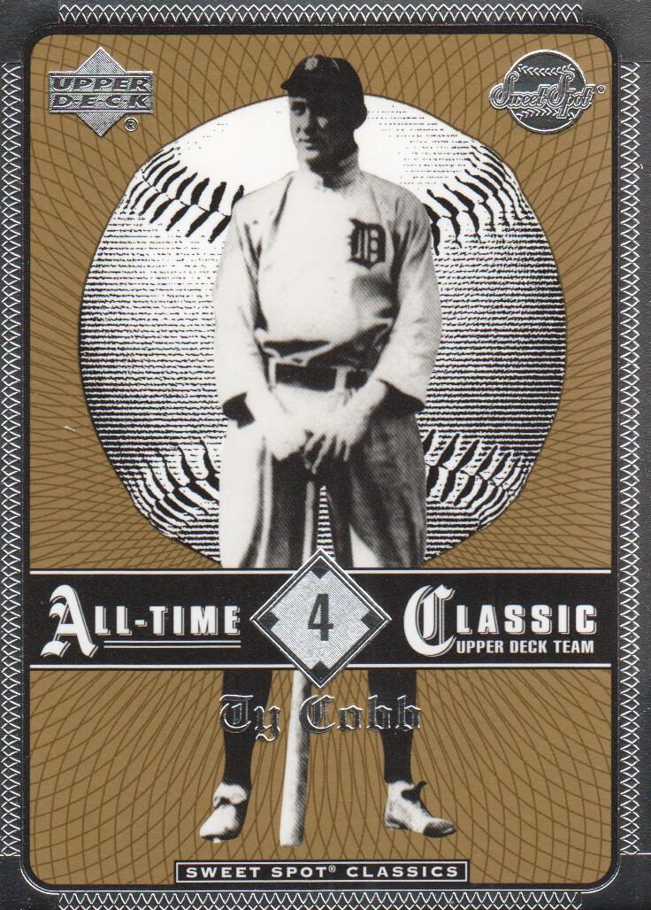 2002 Sweet Spot Classics #4 Ty Cobb
