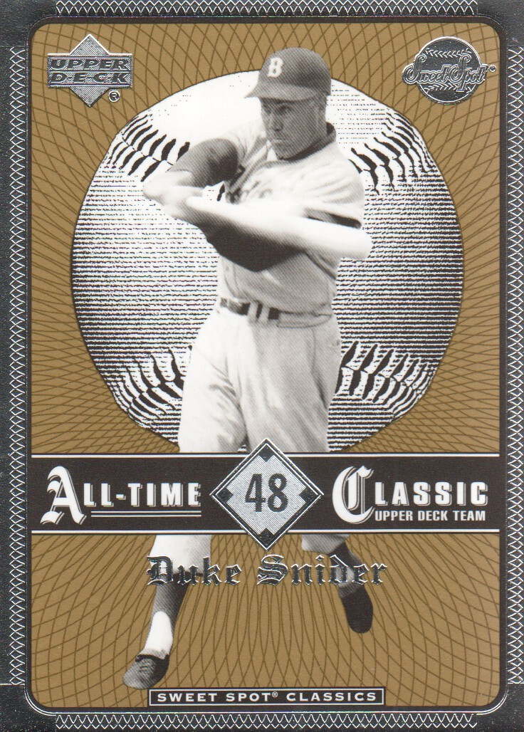 2002 Sweet Spot Classics #48 Duke Snider