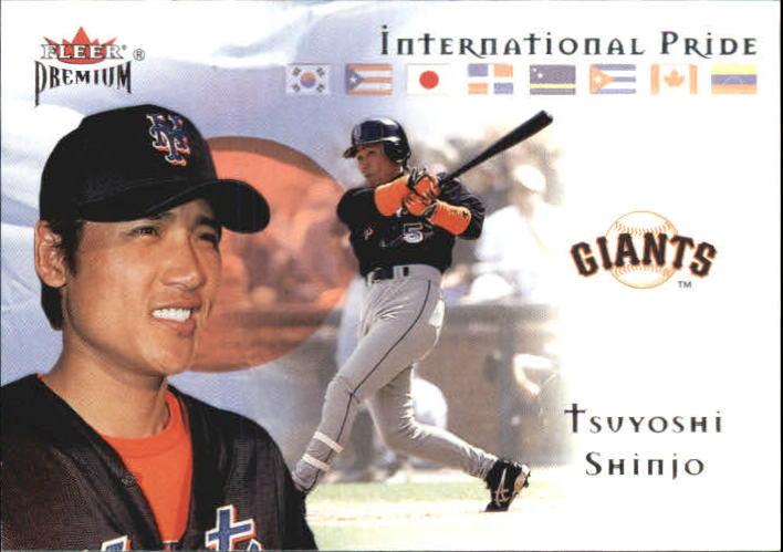 2002 Fleer Premium International Pride #11 Tsuyoshi Shinjo