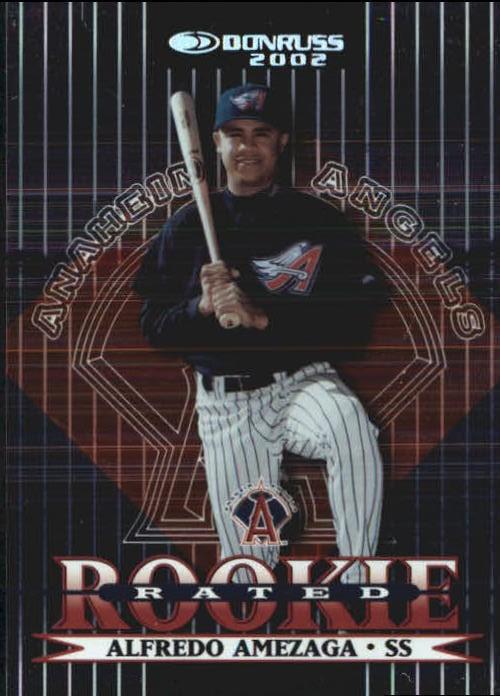 2002 Donruss Stat Line Career #200 Alfredo Amezaga RR/290