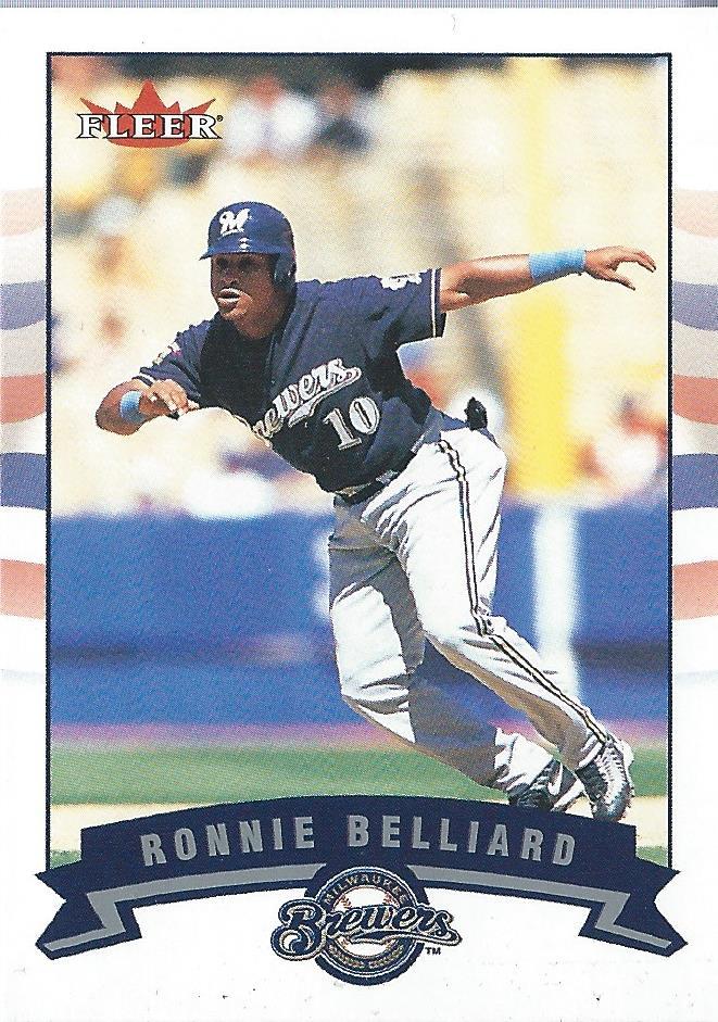 2002 Fleer Mini #152 Ronnie Belliard