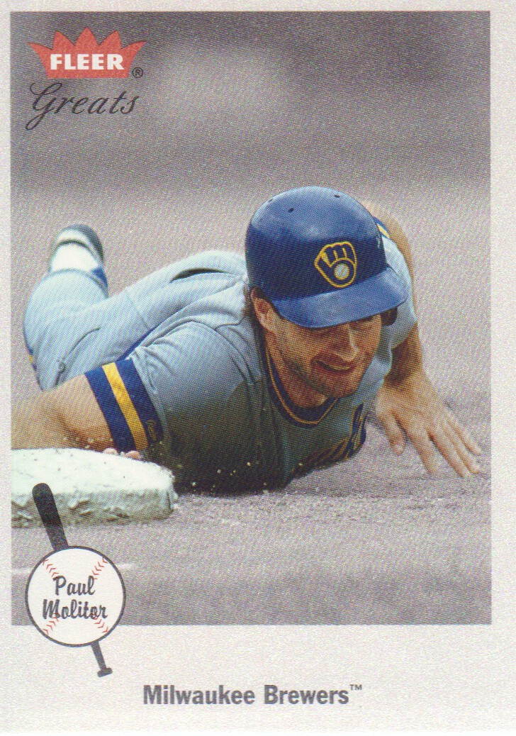 2002 Greats of the Game #2 Paul Molitor