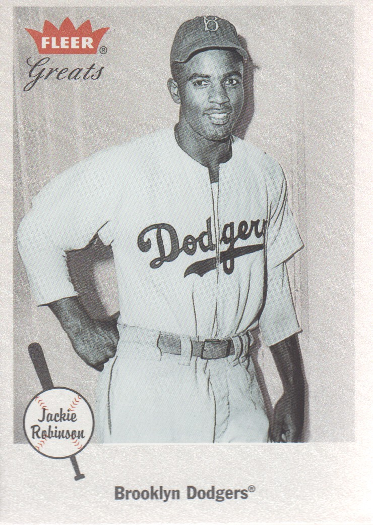 2002 Greats of the Game #26 Jackie Robinson