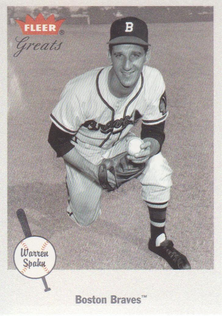 2002 Greats of the Game #52 Warren Spahn