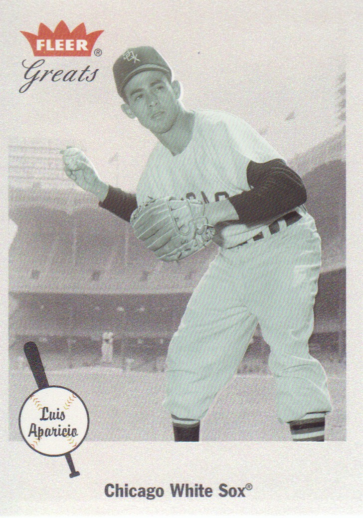 2002 Greats of the Game #84 Luis Aparicio
