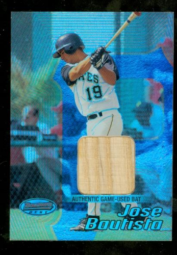 2002 Bowman's Best #129 Jose Bautista Bat RC