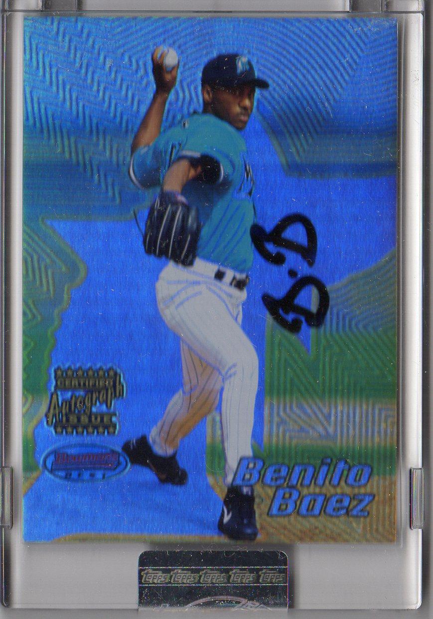2002 Bowman's Best Uncirculated #102 Benito Baez AU