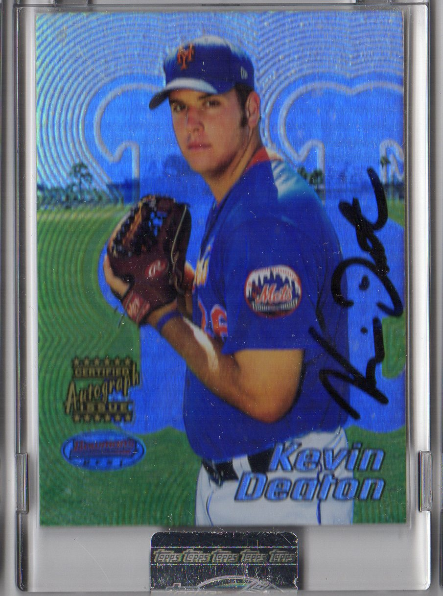 2002 Bowman's Best Uncirculated #139 Kevin Deaton AU