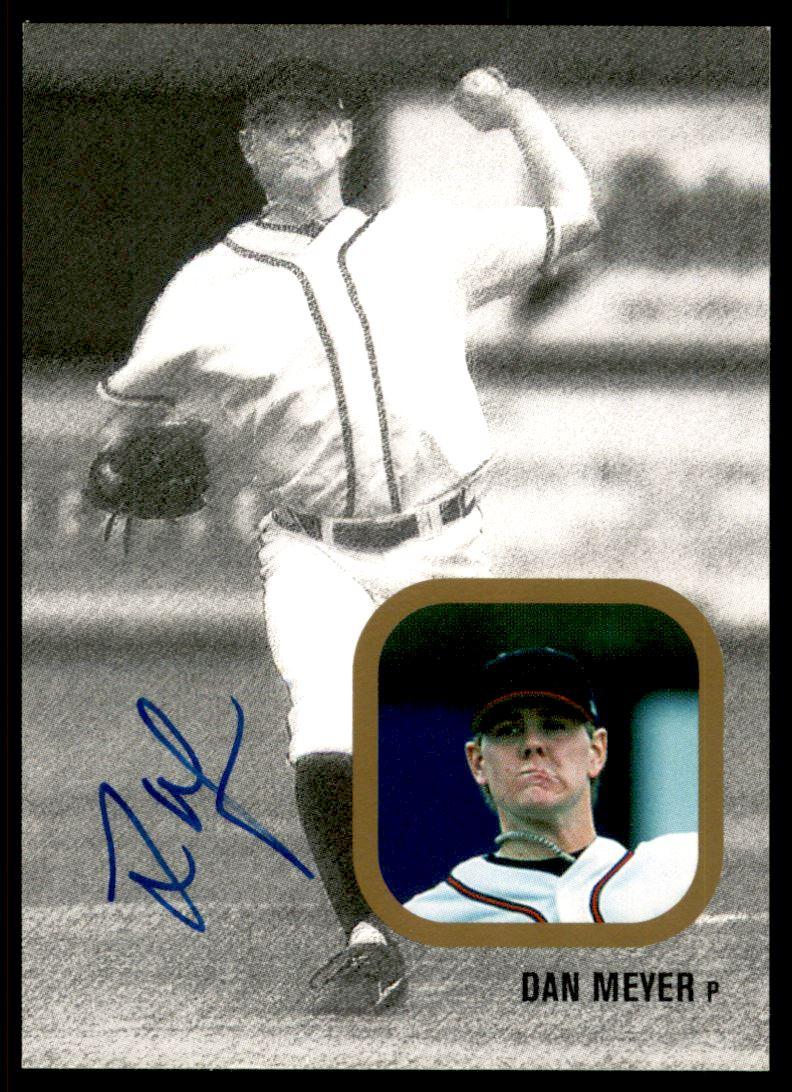 2002-03 Just Rookies Autographs #24 Dan Meyer/300
