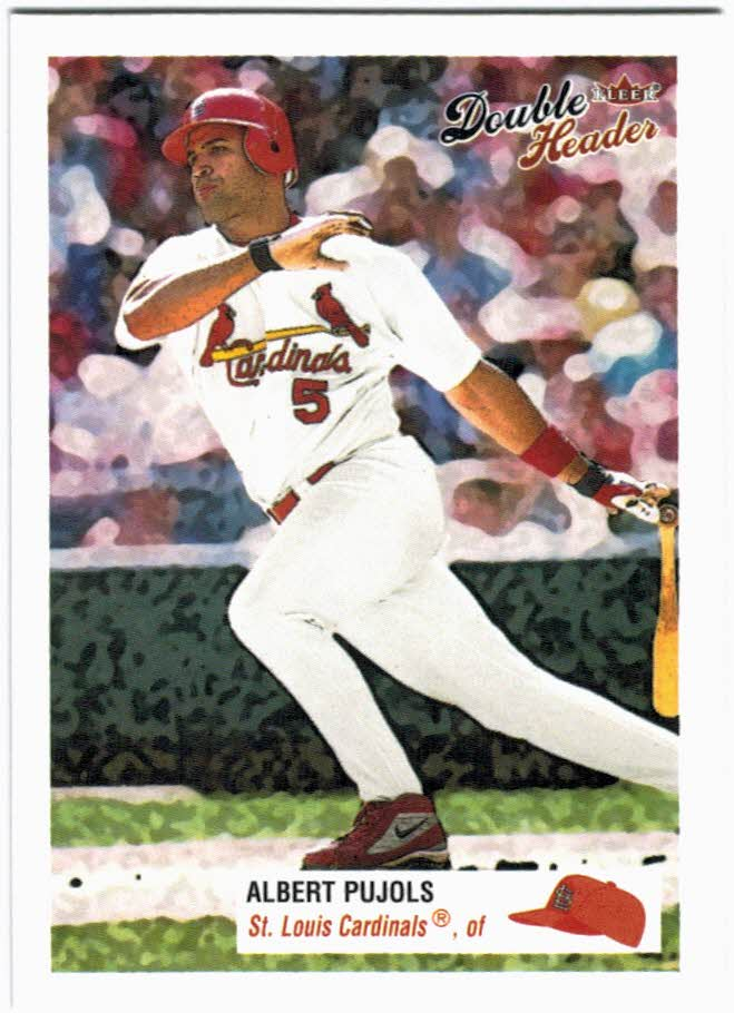2003 Fleer Double Header #129 Albert Pujols