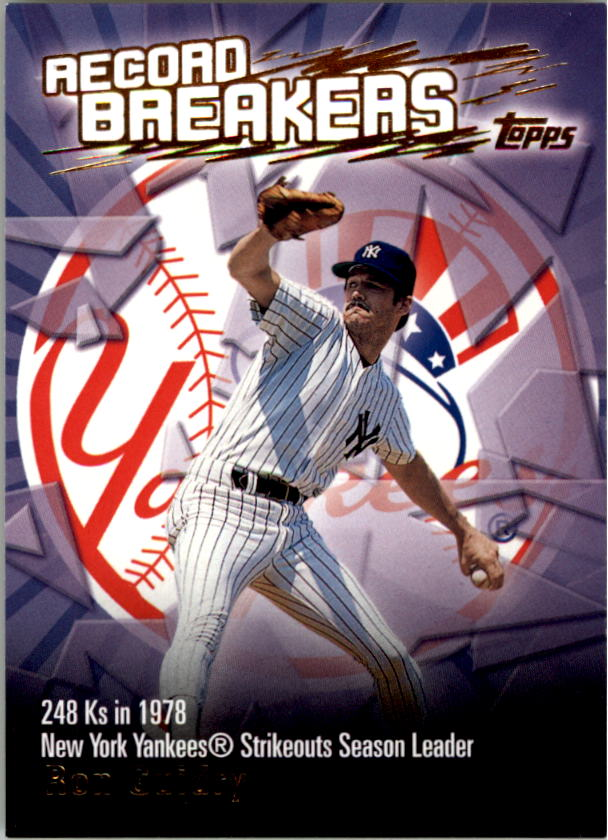 2003 Topps Record Breakers #RG Ron Guidry 1