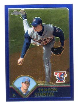 2003 Topps Chrome Traded #T3 Tanyon Sturtze