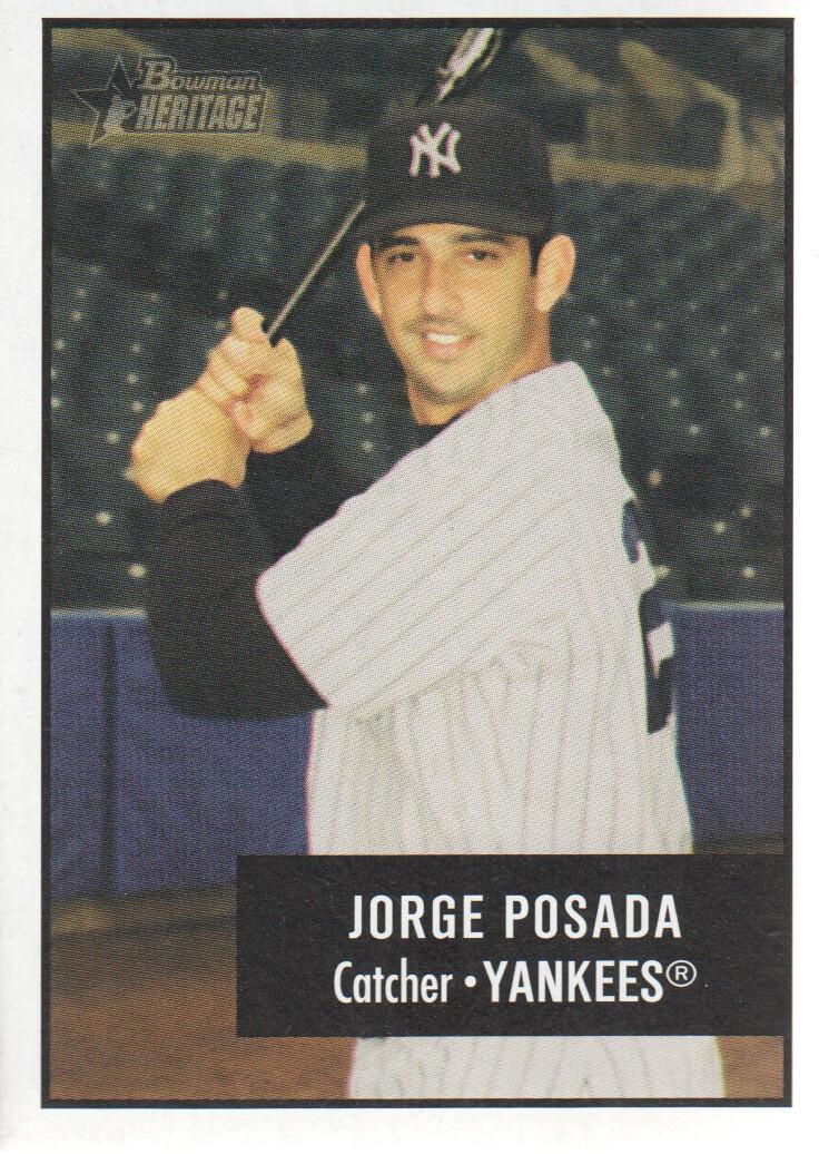 2003 Bowman Heritage #1 Jorge Posada