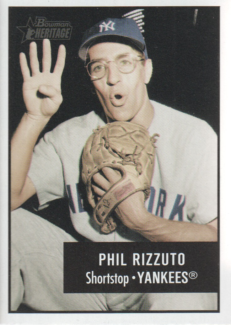 2003 Bowman Heritage #172A Phil Rizzuto