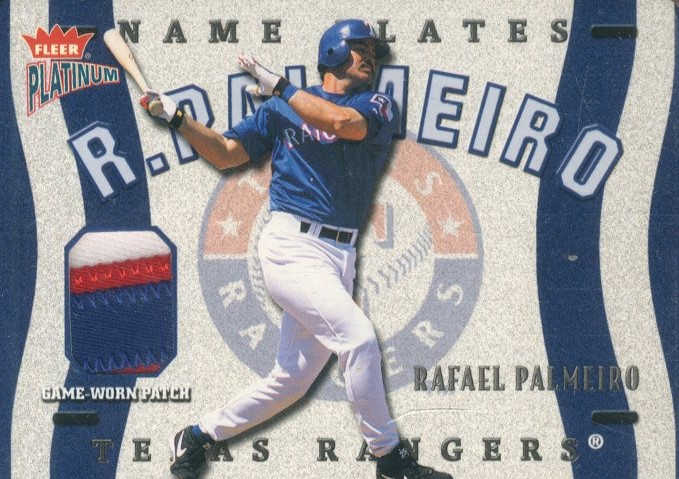 2003 Fleer Platinum Nameplates #RP Rafael Palmeiro/245