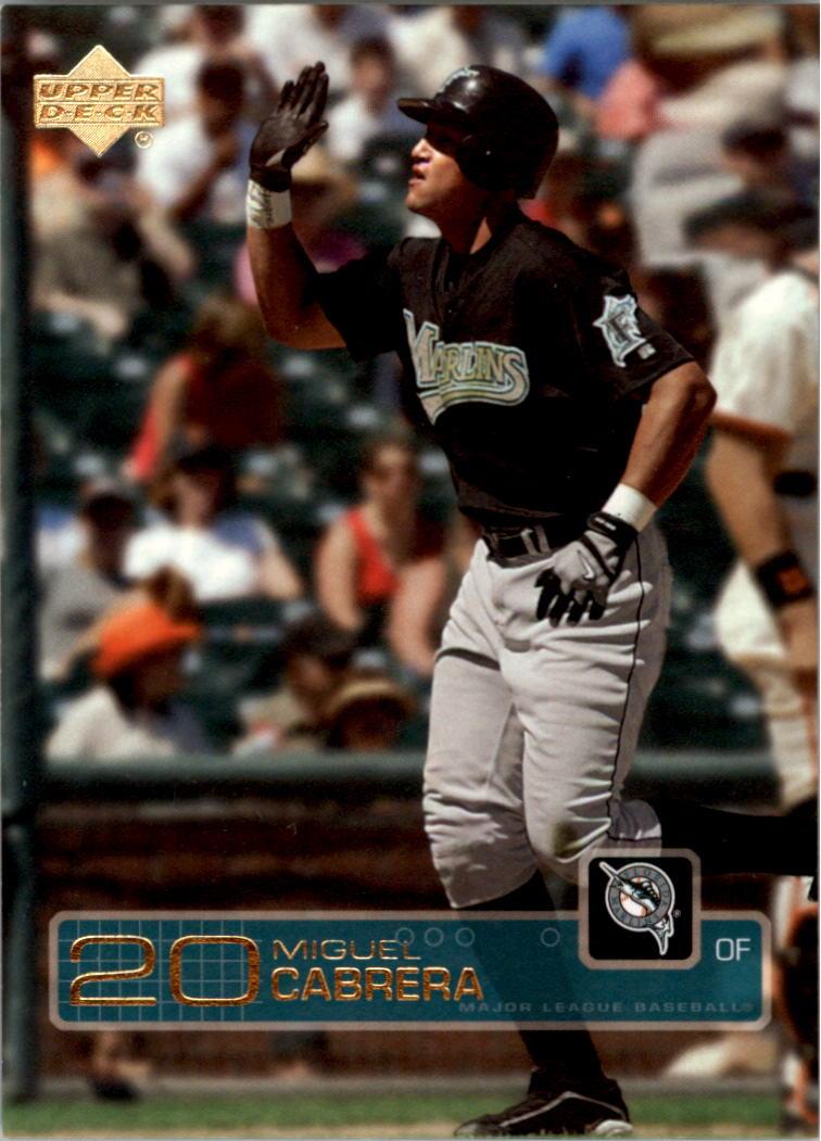 2003 Upper Deck Gold #587 Miguel Cabrera