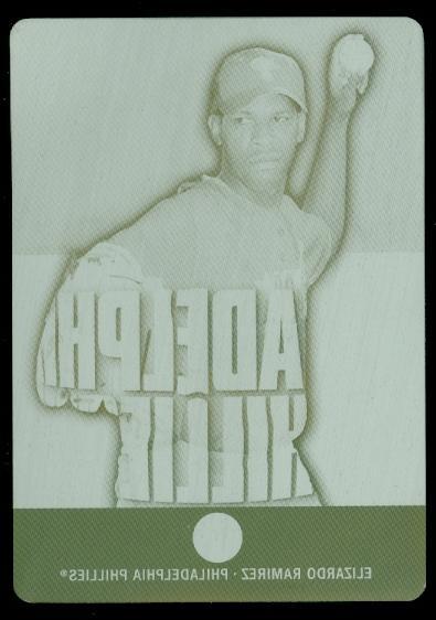 2003 Topps Pristine Plates #177 Elizardo Ramirez U