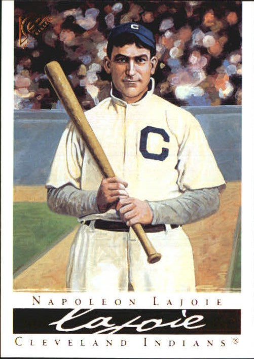 Details About 2003 Topps Gallery Hof Baseball Card 62 Napoleon Lajoie White Uni