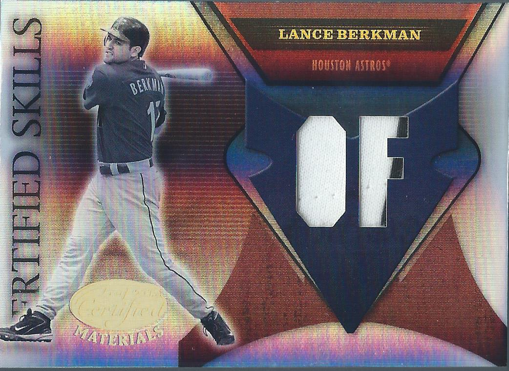 2003 Donruss Elite Back to Back Jacks #10 Lance Berkman