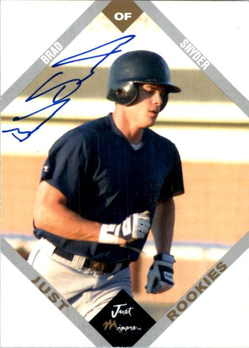 2003-04 Just Rookies Autographs #66 Brad Snyder/875