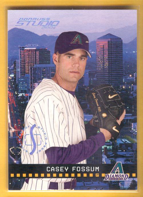 2004 Studio Proofs Platinum #8 Casey Fossum
