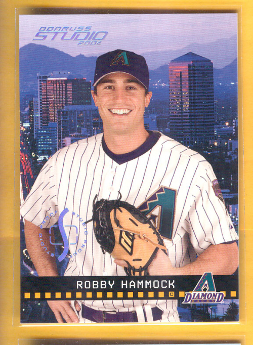 2004 Studio Proofs Platinum #12 Robby Hammock